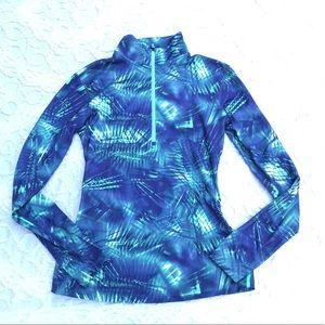 NWOT Nike 3/4 zip Pullover warmup jacket sz L